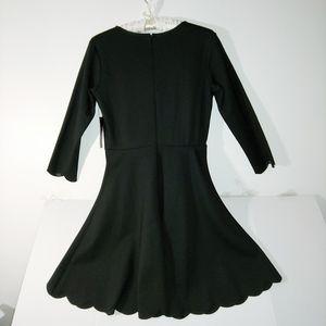 """Lulus Scalloped Edge """"LBD"""" (Little Black Dress)"""